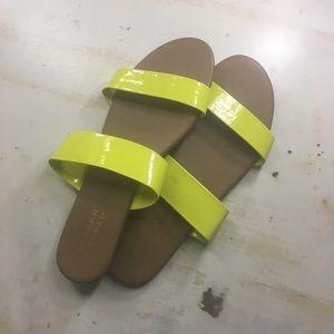 5 for 20! NWOT Lauren Conrad neon yellow sandals